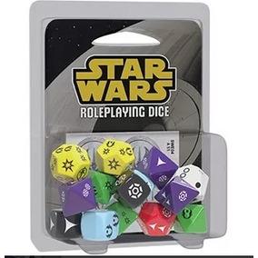 Kit De Dados Star Wars Rpg / Jogo De Tabuleiro Board Game