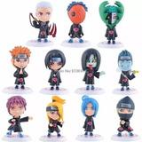 Bonecos Naruto Akatsuki Coleção Completa