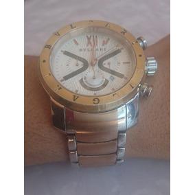 c0804e80bed Relogio Bugarir Usado - Relógio Bvlgari Masculino