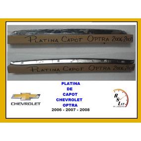 Platina Cromada De Capot Optra 2006-2007-2008