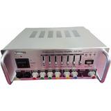 Amplificador Audio Sonido Reproduce Mp3 Usb Potenciado