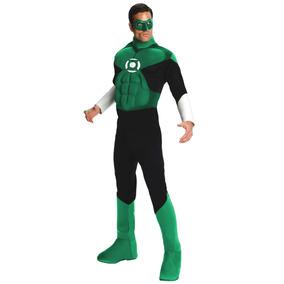 Fantasia Lanterna Verde - Importada - Green Lantern - Tam M.