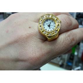 Relógio De Dedo Dourado