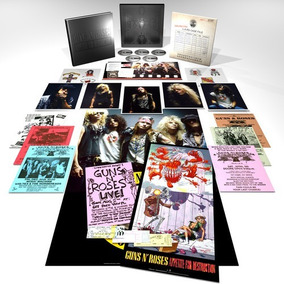 Guns N Roses Appetite For Destruction Box Set 4 Cd +bluray