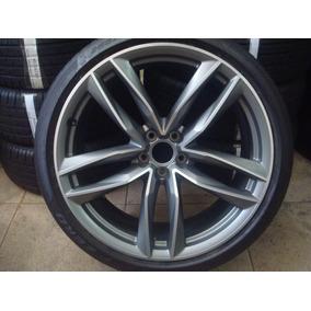 Roda Com Pneu Audi Rs6 Aro 21 285/30/21 Pirelli Pzero Novos