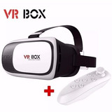 Vr Box Gafas De Realidad Virtual 3d Andriod Iphone + Contr