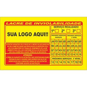 Lacre De Garantia P6 1000und