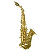 Saxofon Soprano Curvo, Nuevo, Excelente, Remato!