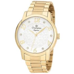 Relógio Champion Dourado Cn26224h