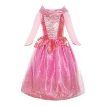 Disfraz Para Niña Princesa Del Vestido Del Traje De Aurora