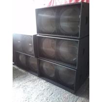 Bafles Martin Audio Tipo Ws218x Premium
