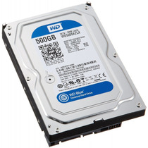 Hd 500gb Wd Sata Wd5000azlx Para Pc Desktop 32mb Cache