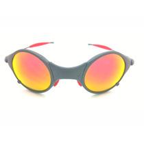 Oculos Oakley Mars X Metal Ruby Kit Borracha Vermelha