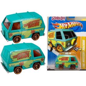 Hot Wheels Scooby Doo (sao 3 Cores De Cartela Aleatorios)