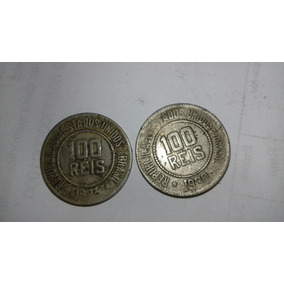Moedas 100 Reis Antigas Raras 1923 E 1930