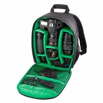 Mochila Backpack Camara Profesional Dsrl