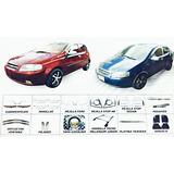Accesorios Cromados Y Lujos Para Chevrolet Aveo Sedán Y Hb