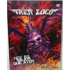Cd+dvd Tren Loco Hoy Es Mejor Que Ayer Nuevo Original
