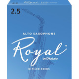 Cañas Para Sax Royal 2 1/2 Caja 10 Piezas Envío Gratis Msi