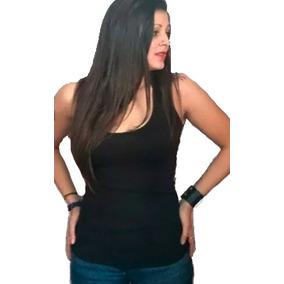 6 Musculosas Basicas De Modal Con Lycra