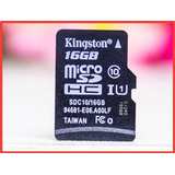 Memoria Micro Sd Marca Kingston Original De 16 Gb Clase 10