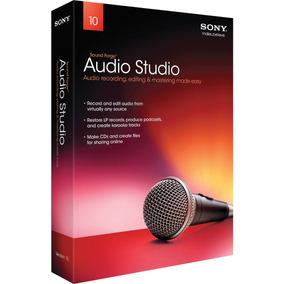 Sony Sound Forge Audio Studio 10 Programa De Edicion Y Grab.