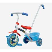 Triciclo Paw Patrol Aluminio Barral Manija Canasto Original
