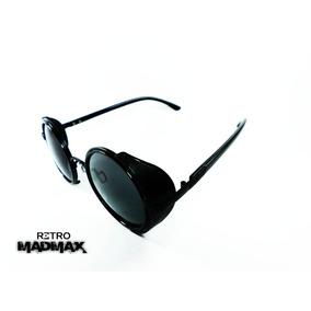 Retro® Mad Max Movie Hollywood Dark Round Sol0344 Gafas 360°
