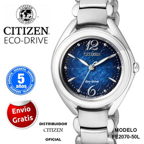 Reloj Citizen Fe2070-50l Cristal De Zafiro Dama --kairos--