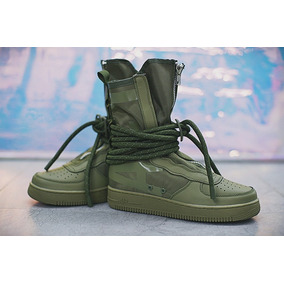 Tenis Bota Military Nike Sf Air Force 1 Hi Envío Gratis