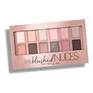 Paleta De Sombras Maquillaje Maybelline The Blushed Nudes