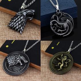 Collares Juego De Tronos Game Of Thrones Stark Targaryen