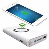 Wireless Power Bank Cargador Inalambrico Portatil Celular Qi