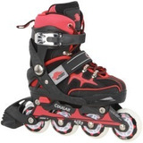 Patins Oxer Cougar Red Devils Cr7 - S- Ajustavel 25-28