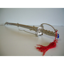 Espada Metálica Empunhadura De Sabre 87 Cms.
