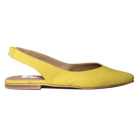 Zapatos Mujer Cuero Chatitas Moda Verano 2019 Tops