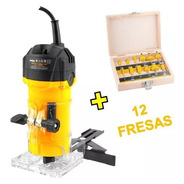 Tupia Manual Elétrica Fixa 500w Tlv506 Vonder + Jogo Fresas
