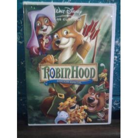 Dvd Robin Hood Walt Disney Ciencia Ficción Caricaturas