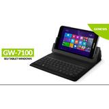 Tablet Genesis Gw-7100 16gb W8 Wifi Hdmi Teclado Bluetooth