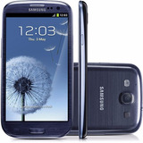 Samsung I9300i Galaxy Siii Duos Grafite 8mp 16gb 3g Wi-fi