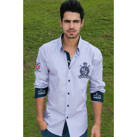 Camisa Absolute Rebellion Slim Fit Tipo Polo Martina