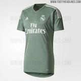 Camisa Real Madrid Navas 2017 - 2018 Nueva