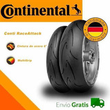 Comb 2 Neumáticos Raceattack Endurance 120/70r17 + 190/55r17