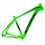 Quadro Absolute Prime 29 Tapered Aluminio Verde Preto Mtb