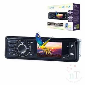Mp5 Automotivo Central Multimidia Tela 3 Bluetooth Usb Sd Fm