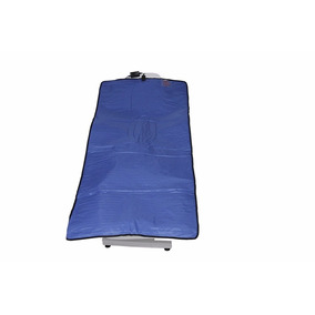 Manta Térmica Corporal Estética 90 X 1,80 Cm 110 Volts Azul