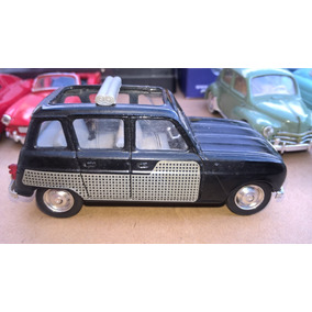 Auto Renault 4l Decouvrable-clásico- Solido 1/43-made France