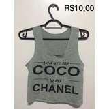 Cropped Coco Chanel