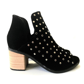 Zapatos Mujer Bota Botineta Plataforma Taco Palo Otoño 2018