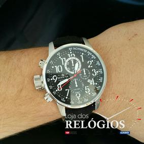 Relógio Invicta I-force 1512 Pulseira Em Couro Original